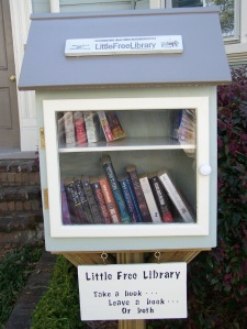Little Free Library on Logan Street